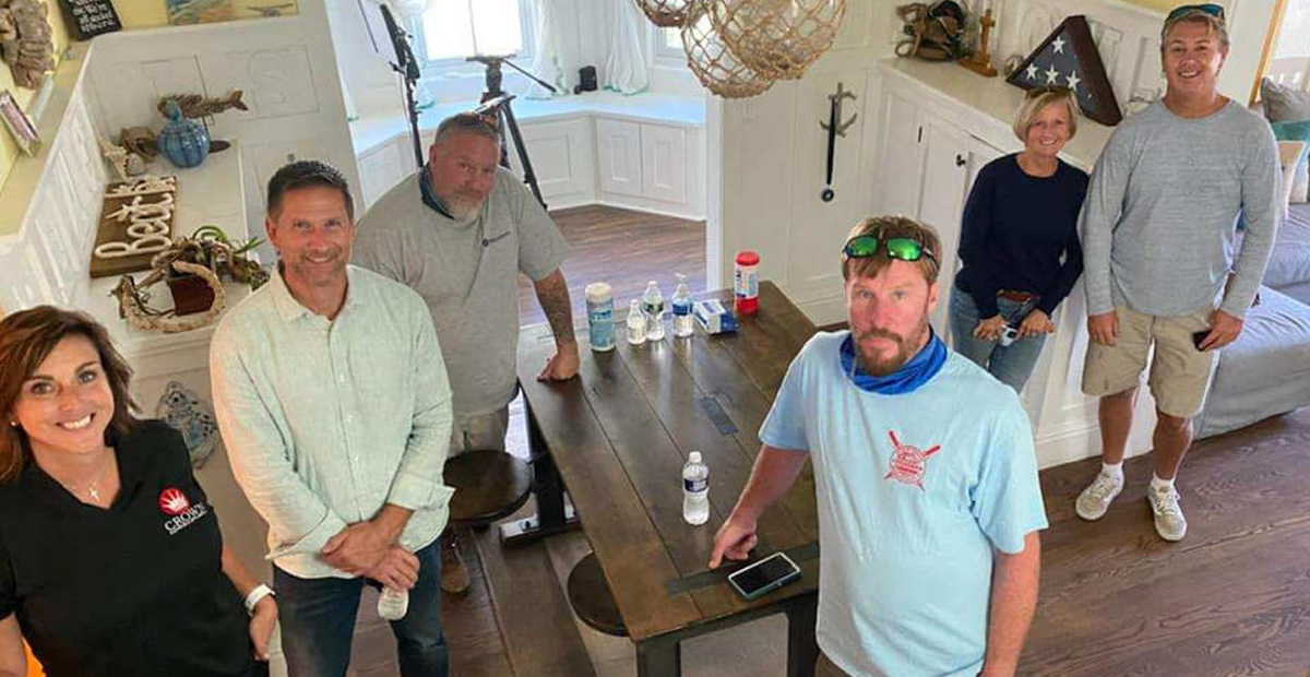 Crown Elevator helps George to the Rescue add accessibility to an Ocean Grove home